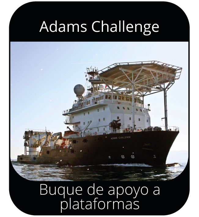 Adams Challenge - Buque de apoyo a plataformas
