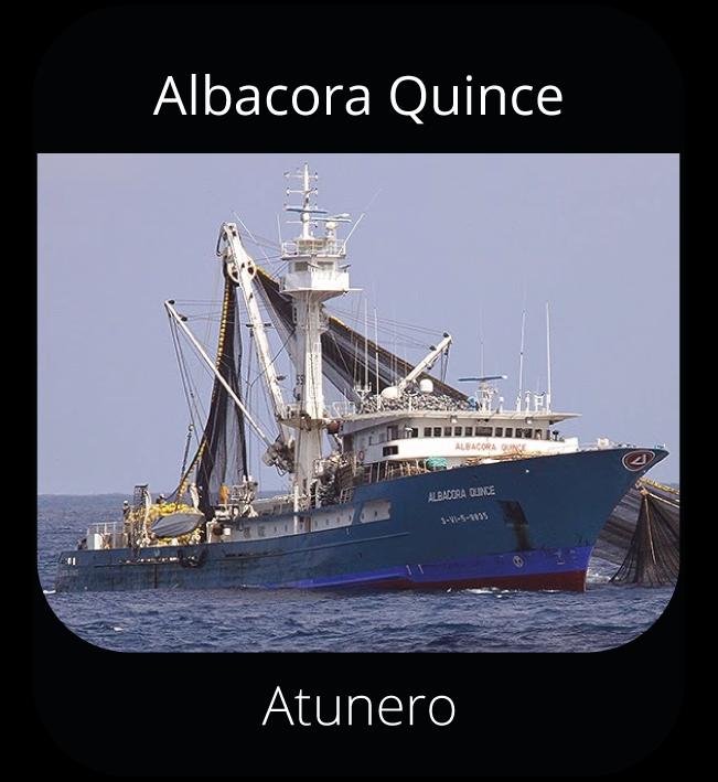 Albacora Quince - Atunero
