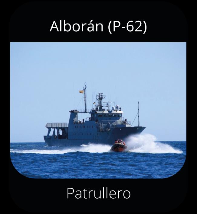 Alborán (P-62) - Patrullero