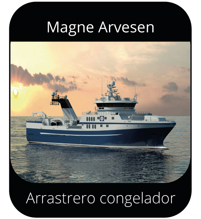 Magne Arvesen - Arrastrero congelador