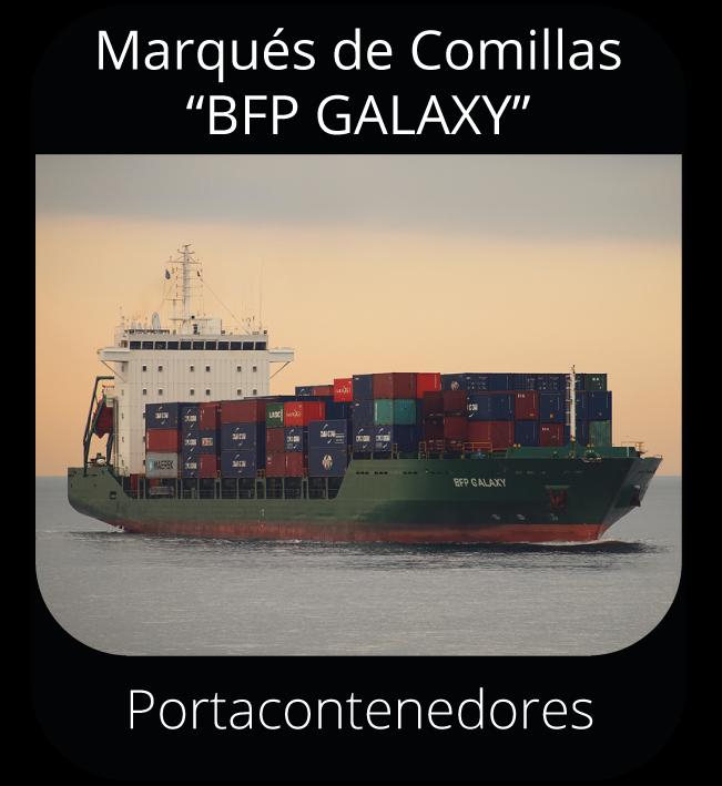 """Marqués de Comillas """"BFF GALAXY"""" - Portacontenedores"""