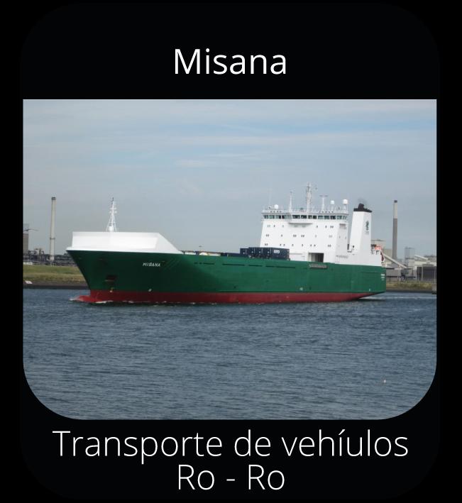 Misana - Transporte de vehículos Ro-Ro