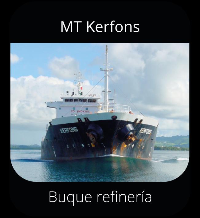 MT Kerfons - Buque refinería