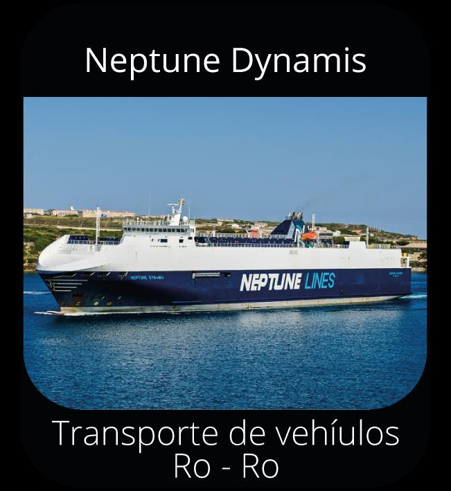 Neptune Dynamis - Transporte de vehículos Ro-Ro