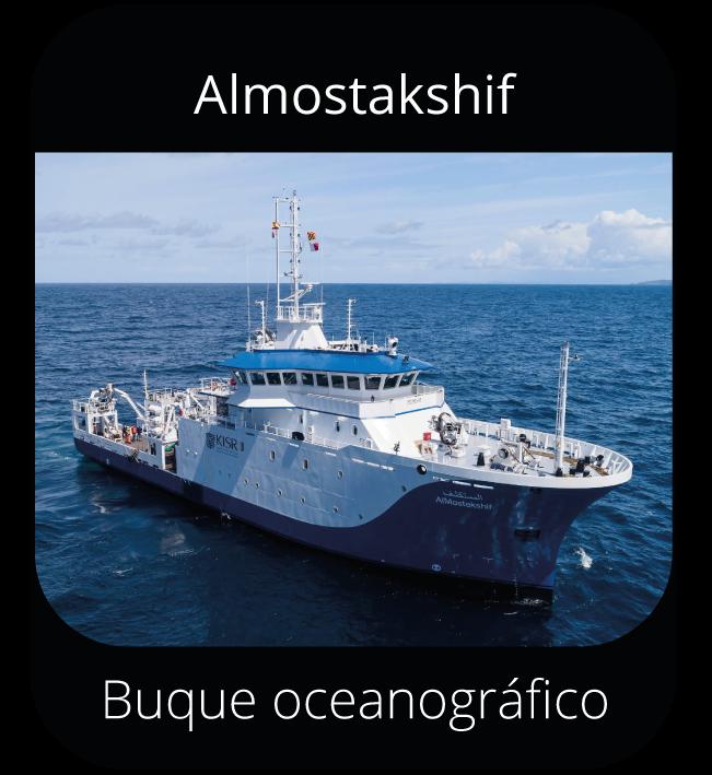 Almostakshif - Buque oceanográfico