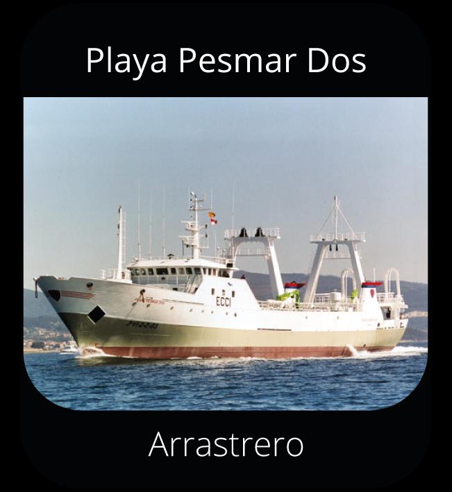 Playa Pesmar Dos - Arrastrero