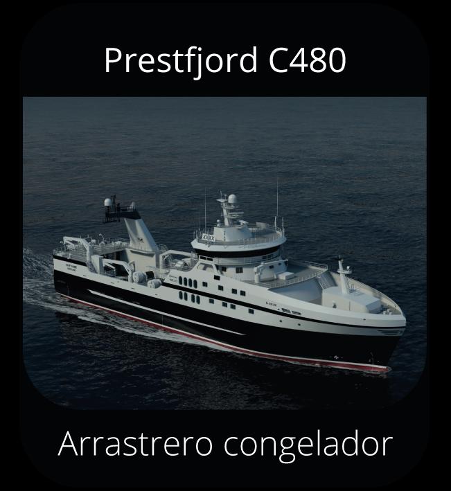 Prestfjord C480 - Arrastrero congelador