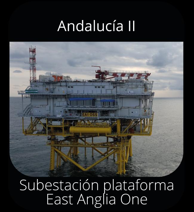 Andalucía II - Subestación plataforma East Anglia One