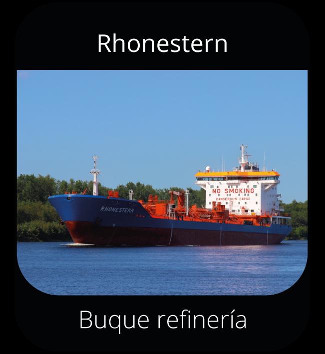 Rhonestern - Buque refinería