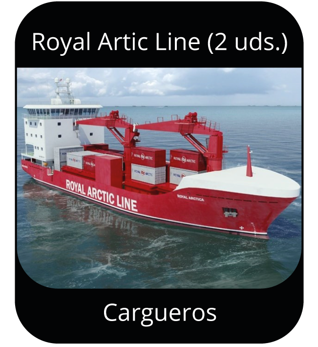 Royal Arctic Line (2uds.) - Cargueros