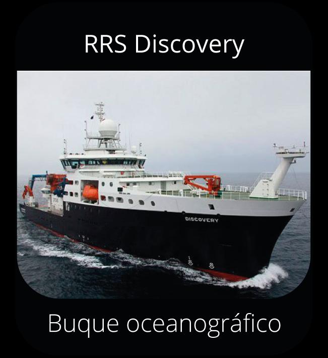 RRS Discovery - Buque oceanográfico
