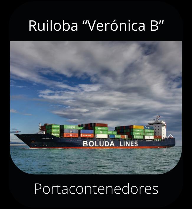 """Ruiloba """"Verónica B"""" - Portacontenedores"""