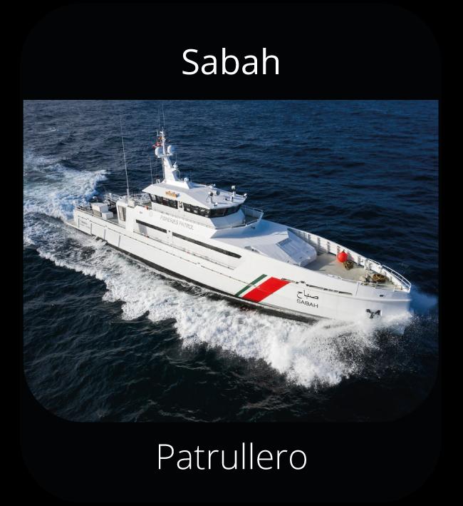 Sabah - Patrullero