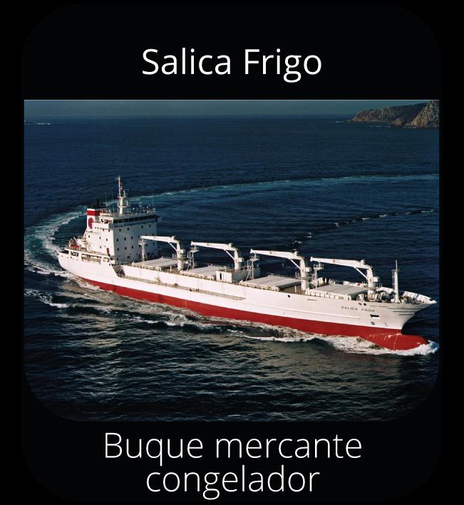 Salica Frigo - Buque mercante congelador