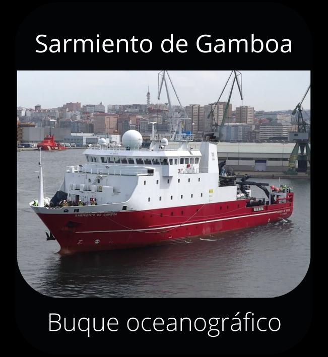 Sarmiento de Gamboa - Buque oceanográfico