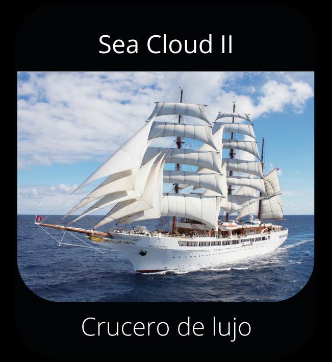 Sea Cloud II - Crucero de lujo