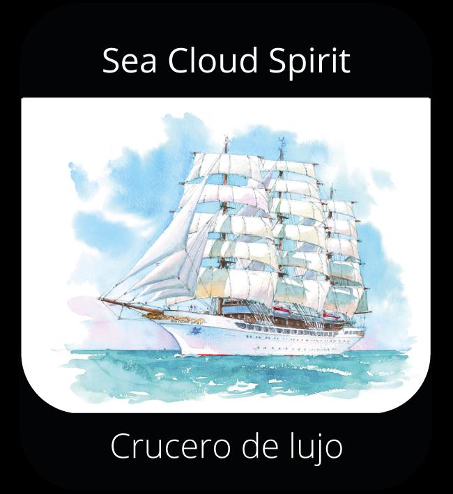 Sea Cloud Spirit - Crucero de lujo