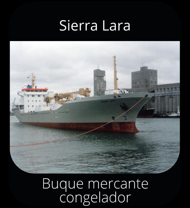 Sierra Lara - Buque mercante congelador