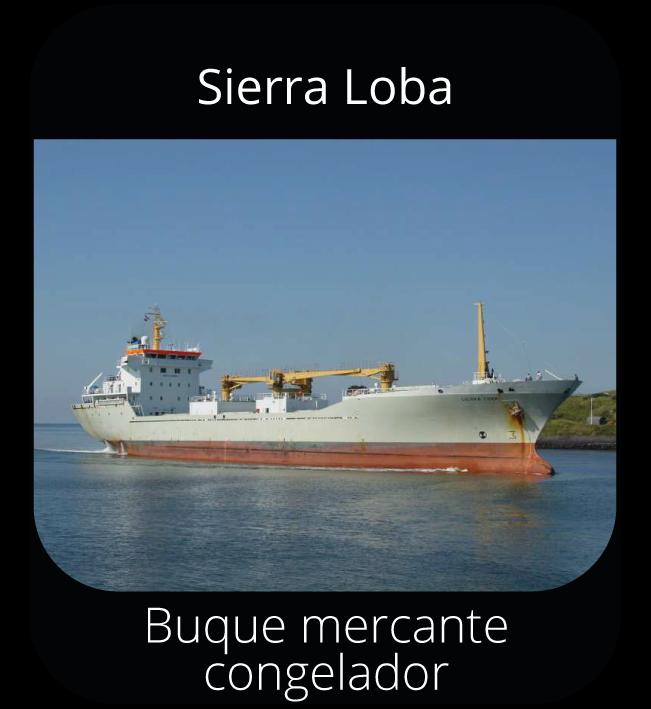 Sierra Loba - Buque mercante congelador