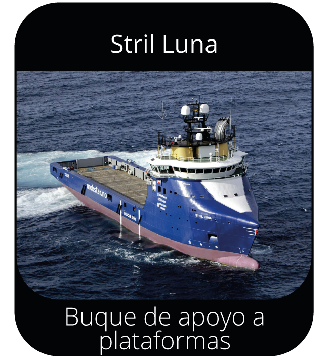 Strill Luna - Buque de apoyo a plataformas