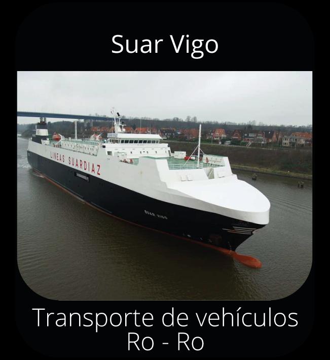 Suar Vigo - Transporte de vehículos Ro-Ro