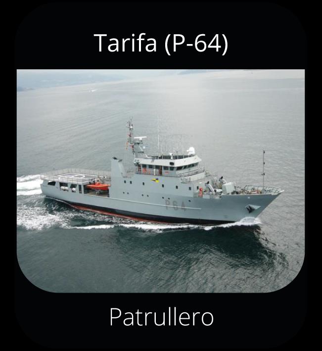 Tarifa (P-64) - Patrullero