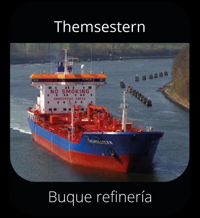 Themsestern - Buque refinería