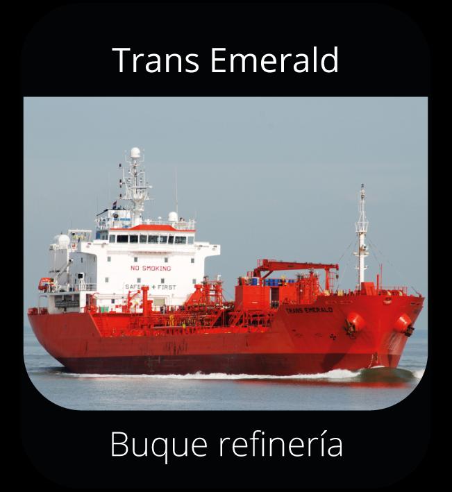 Trans Emerald - Buque refinería