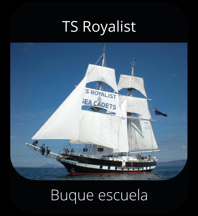 TS Royalist - Buque escuela