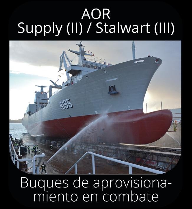 AOR Supply (II) / Stalwart (III)