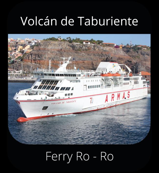 Volcán de Taburiente - Ferry Ro-Ro