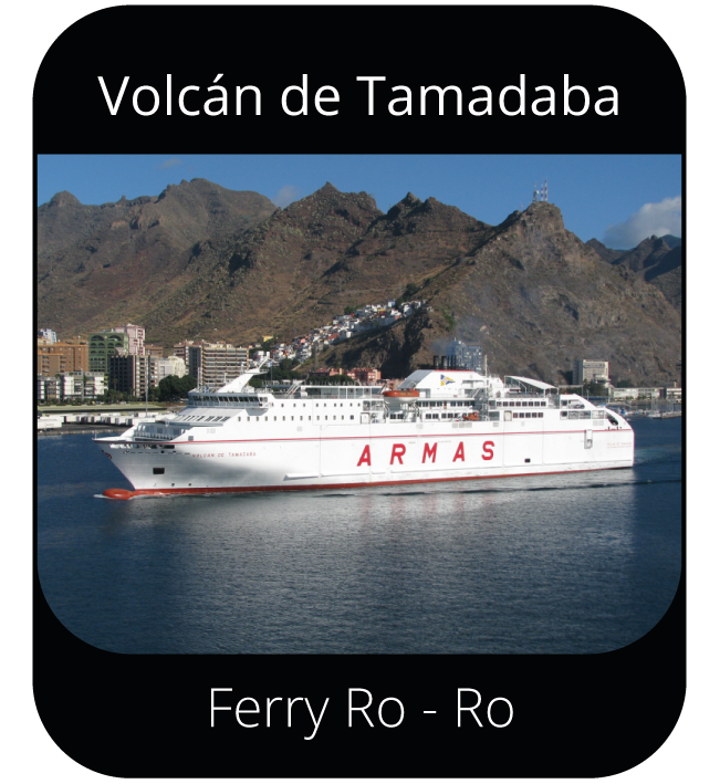 Volcán de Tamadaba - Ferry Ro-Ro