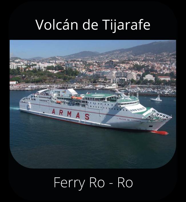 Volcán de Tijarafe - Ferry Ro-Ro