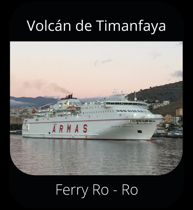 Volcán de Timanfaya - Ferry Ro-Ro