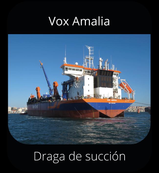 Vox Amalia - Draga de succión