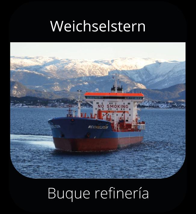 Weichselstern - Buque refinería