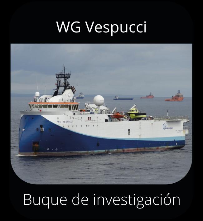 WG Vespucci - Buque de investigación