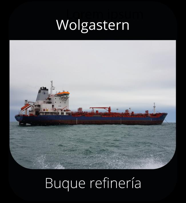 Wolgastern - Buque refinería