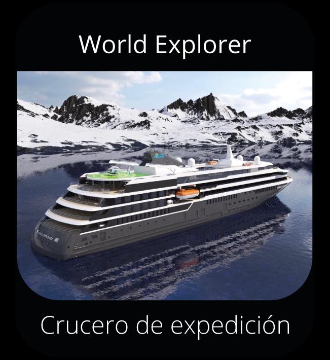 World Explorer - Crucero de expedición