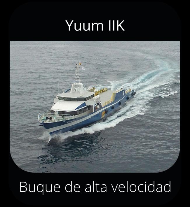 Yuum IIK - Buque de alta velocidad