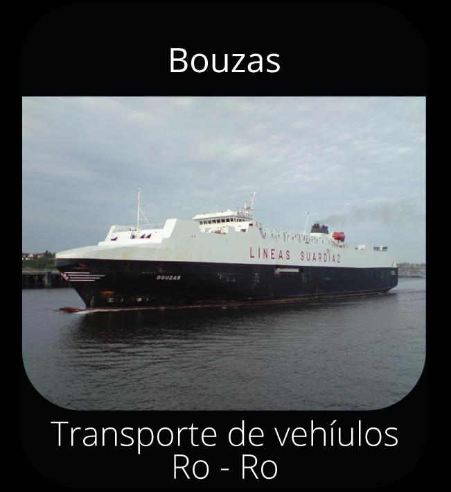 Bouzas - Transporte de vehículos Ro-Ro