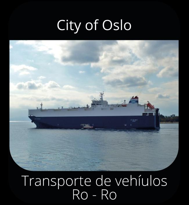 City of Oslo - Transporte de vehículos Ro-Ro