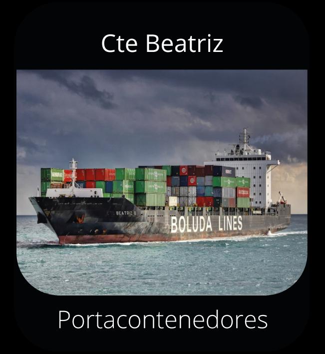 Cte Beatriz - Portacontenedores