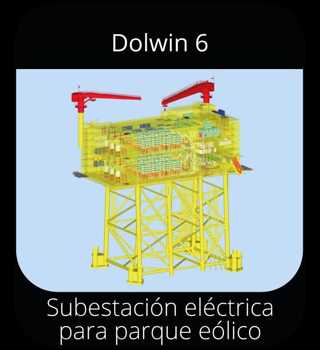 Dolwin 6 - Subestación eléctrica para parque eólico marino