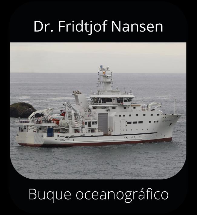 Dr. Fridtjof Nansen - Buque oceanográfico