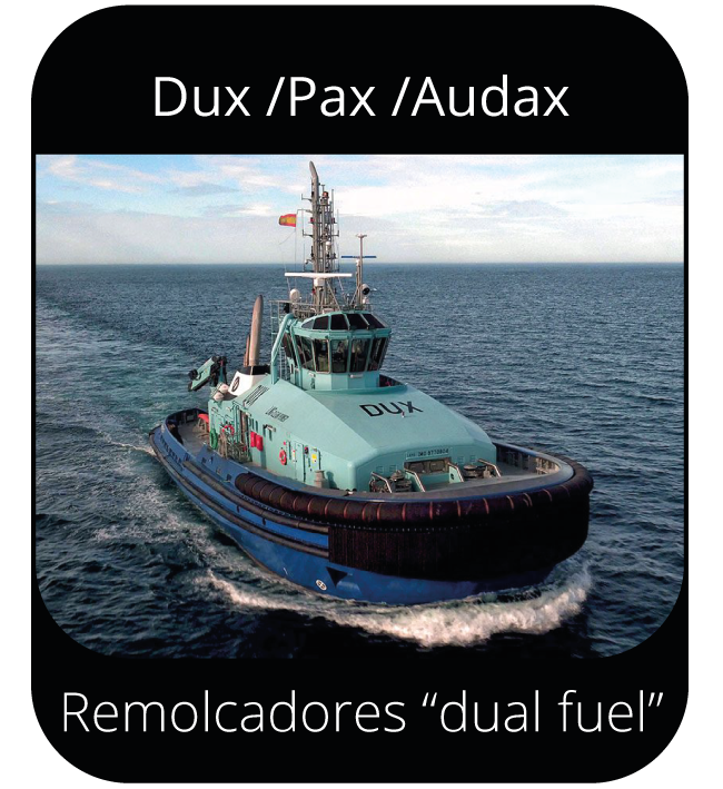 "Dux / Pax / Audax - Remolcadores ""dual fuel"""