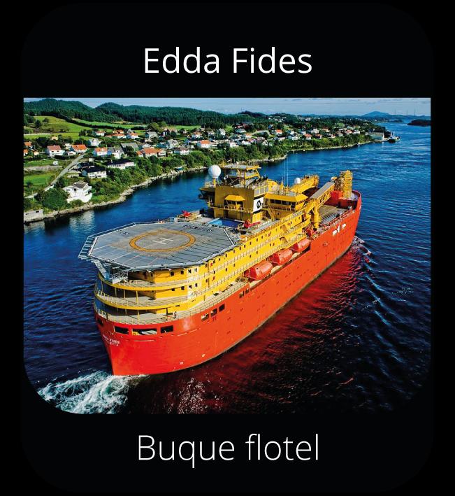 Edda Fides - Buque flotel