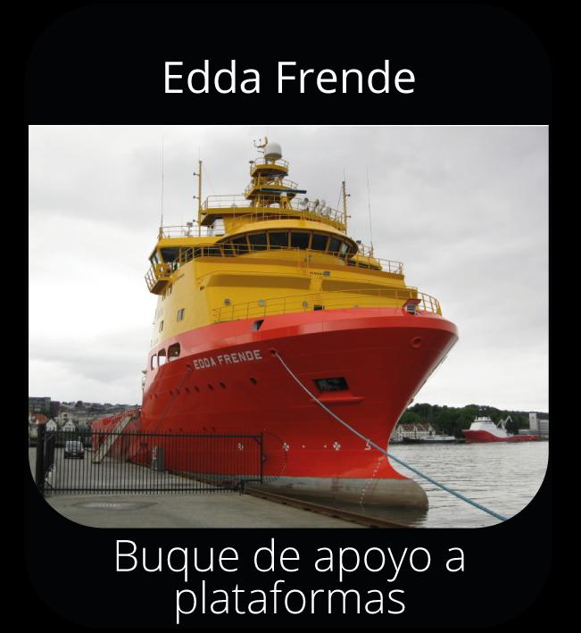 Edda Frende - Buque de apoyo a plataformas