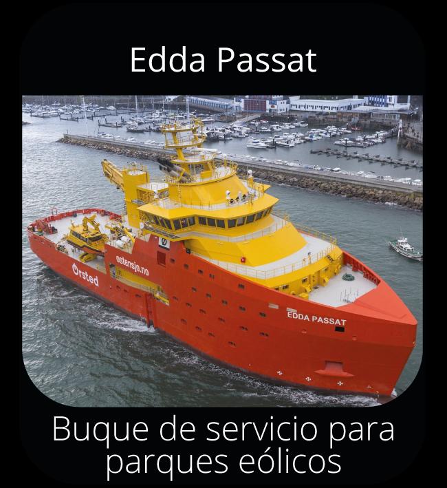 Edda Passat - Buque servicio para parques eólicos
