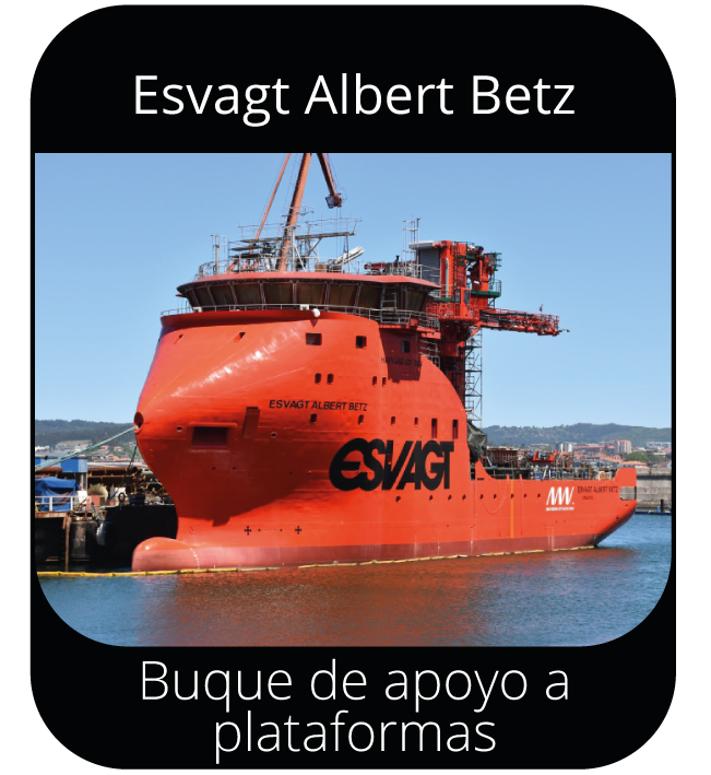 Esvagt Albert Betz - Buque de apoyo a plataformas